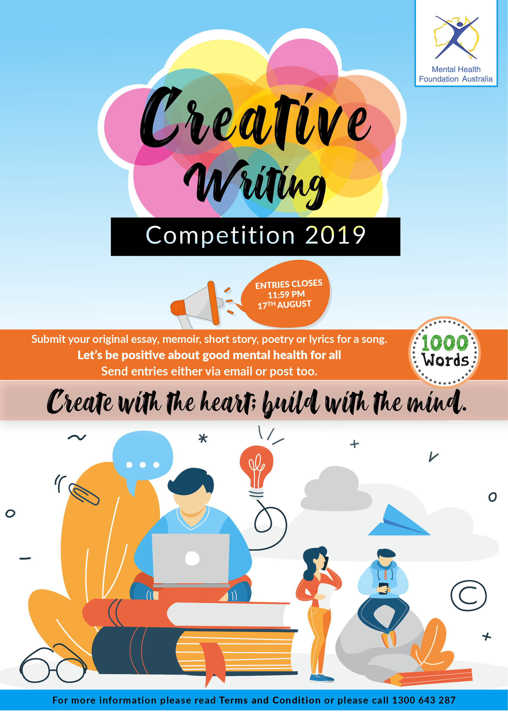 Invirtual - Creating Writing Flyer